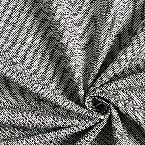 Möbelstoff Jacquard Minipunkte – schwarz