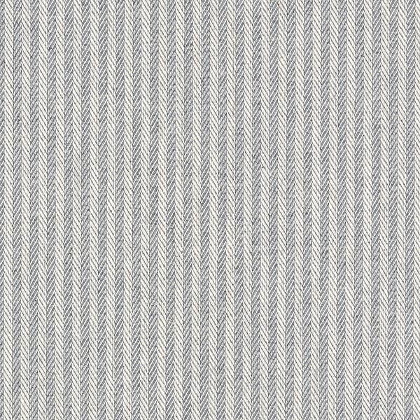 Möbelstoff Jacquard Streifen – hellgrau