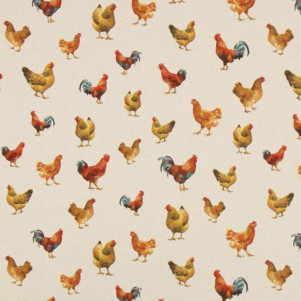 Halbpanama Hühner – natur