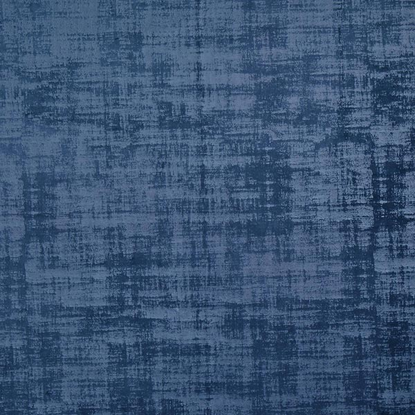 Dekostoff Samt Marmoroptik – marineblau
