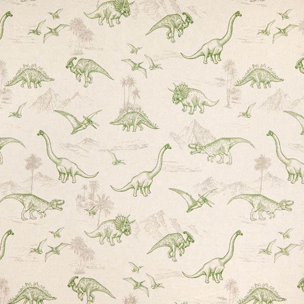 Dekostoff Halbpanama Dino