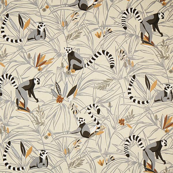 Dekostoff Halbpanama Lemur – natur