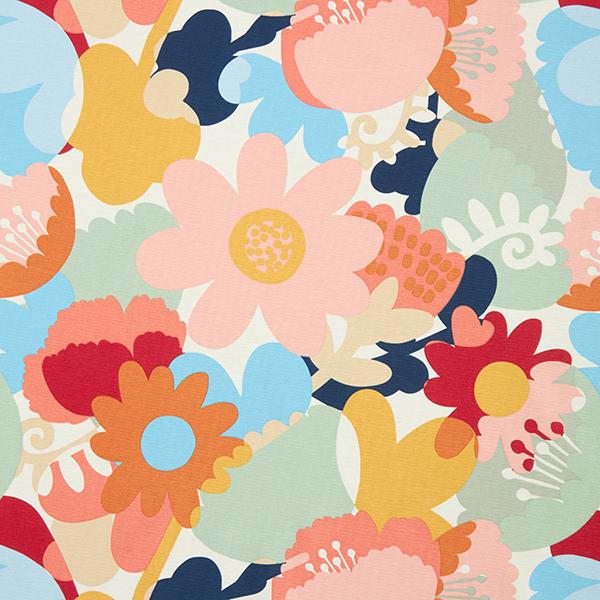 Dekostoff Canvas Floral