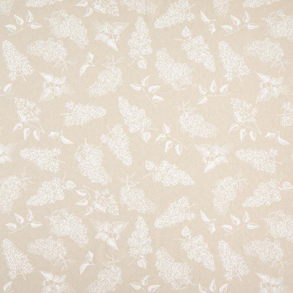 Tissu de décoration Semi-panama Lilas – nature