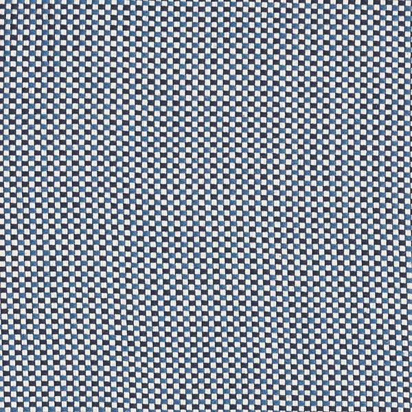 Dekostoff Jacquard Struktur Uni – blau
