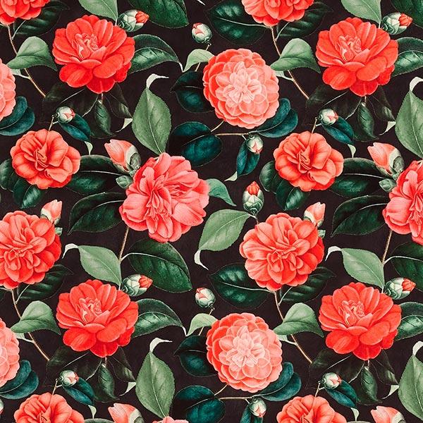 Dekosamt Rosen – rot