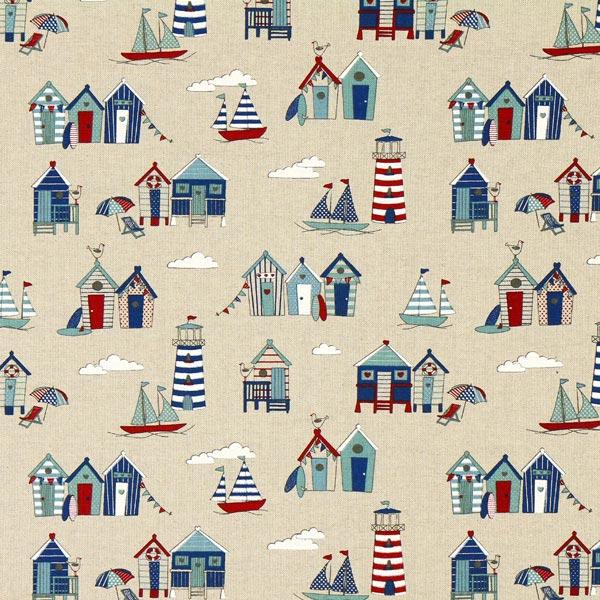 Tissu de décoration nature – Mer du nord