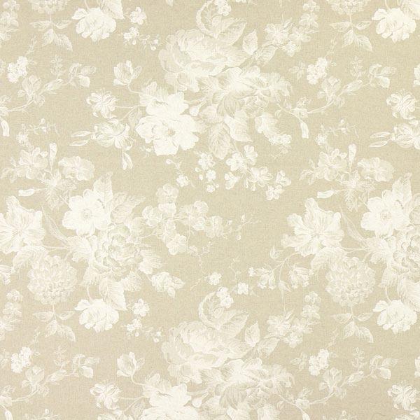 Tissu de décoration nature – Fleurs romantiques