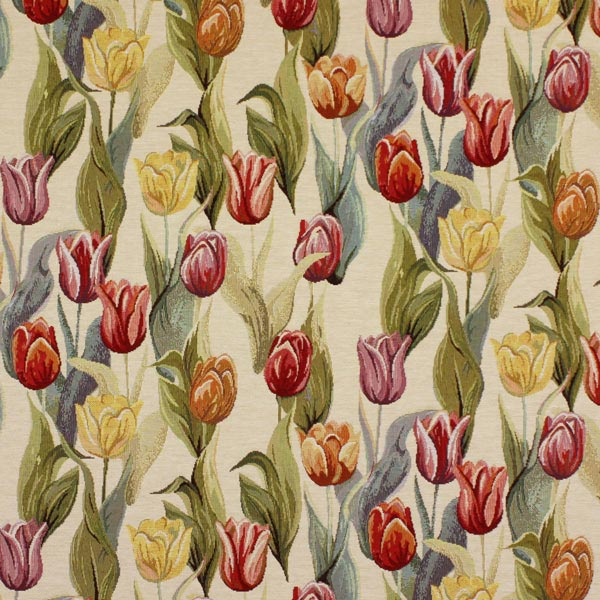 Gobelin champ de tulipes 1