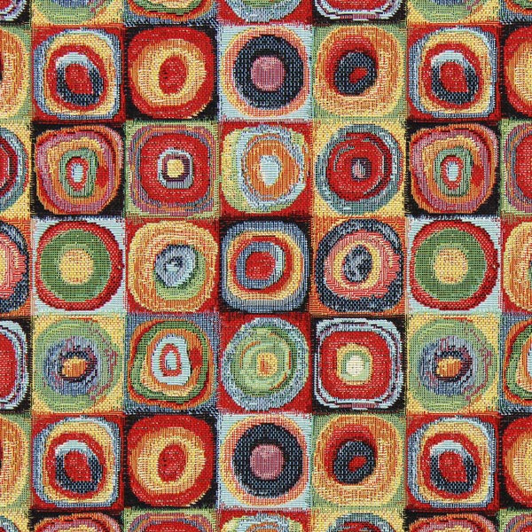 Jacquard Gobelin Cercles Kandinsky 2