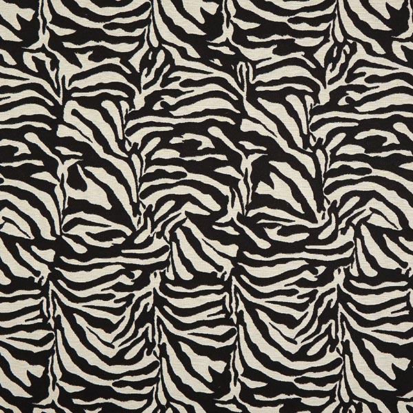 Jacquard Gobelin zebra – schwarz/weiss