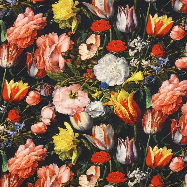 Semi-panama Bouquet de tulipes