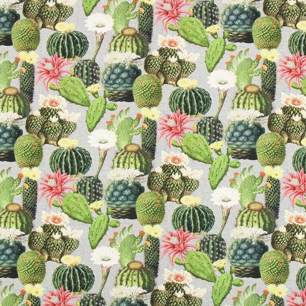 Halbpanama Kaktus Mix – grau/grün