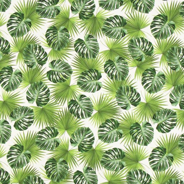 Halbpanama Palmwedel – grün