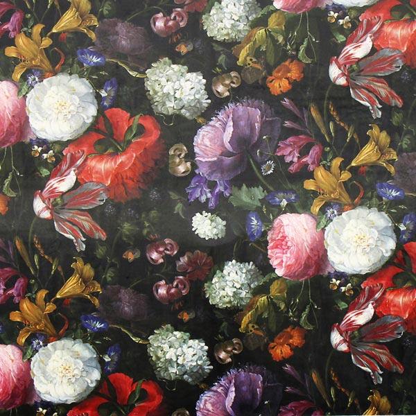 Samt Blumenmeer Pfingstrosen