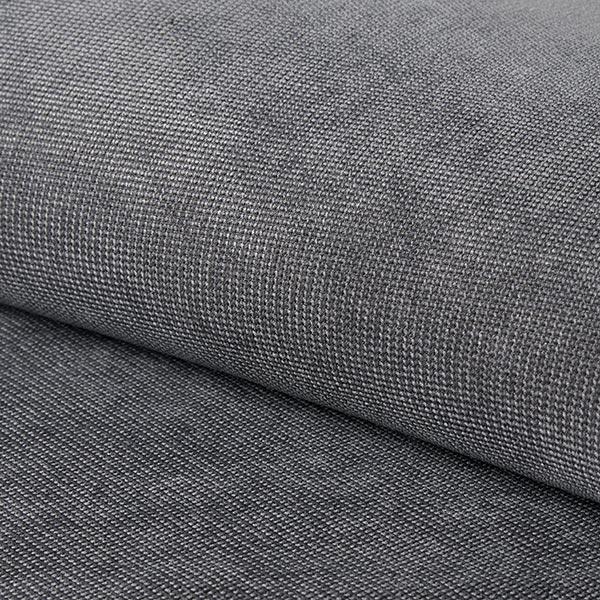 Tissu d'ameublement Brento – gris foncé