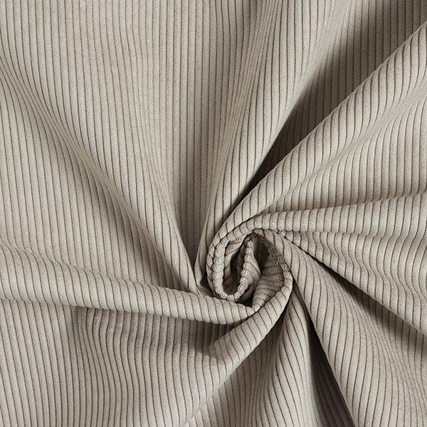Tissu de revêtement aspect côtelé Fjord – gris clair