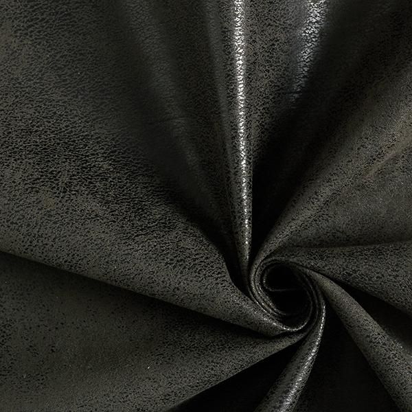 Polsterstoff Lederimitat Toho – schwarz