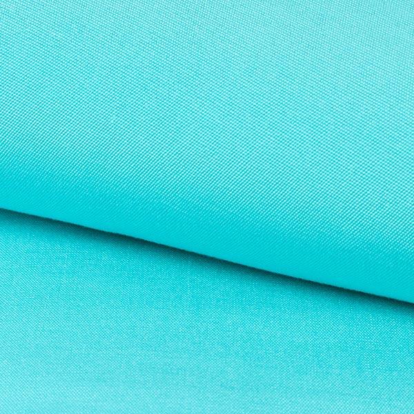 Extérieur Tissu pour chaise longue Uni, 44 cm – bleu aqua
