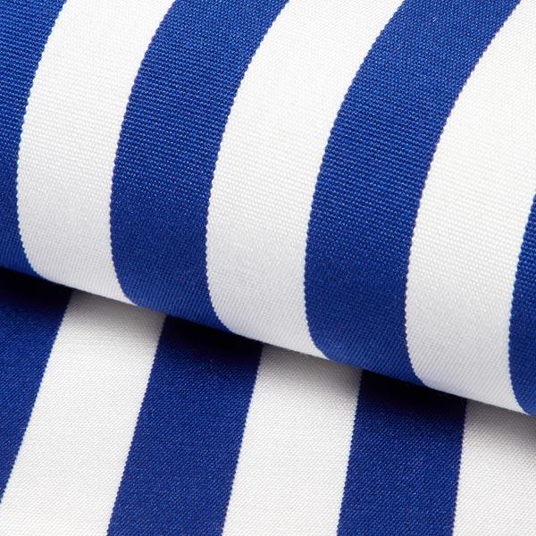 Extérieur Tissu pour chaise longue Rayures verticales, 44 cm – bleu