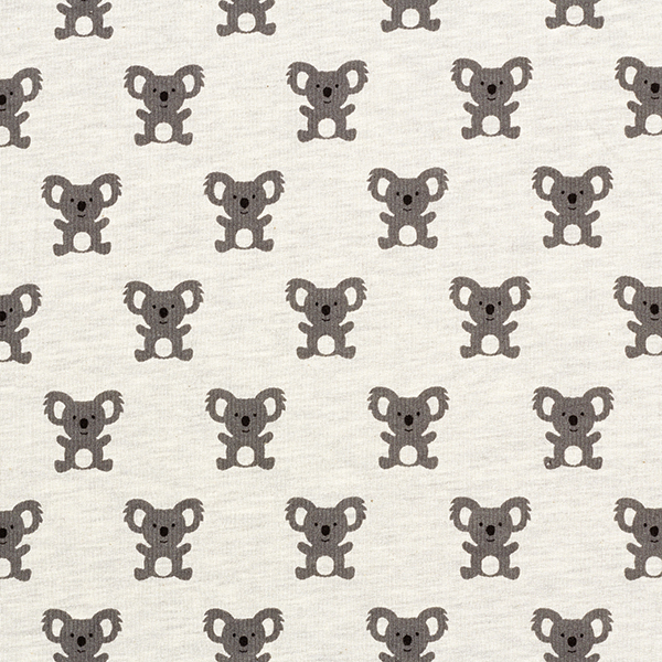 Sweatshirt angeraut Koala – grau