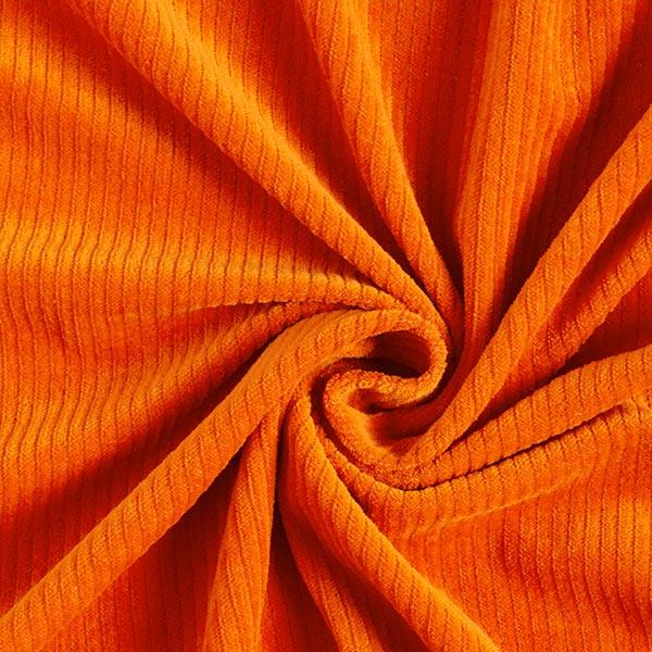 Bio Cord Nicki Stoff | Hamburger Liebe – orange