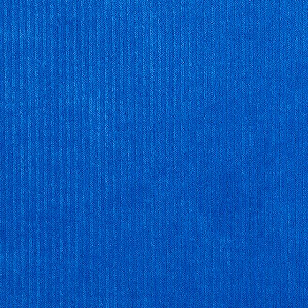 Tissu velours côtelé nicki biologique| Hamburger Liebe – bleu roi