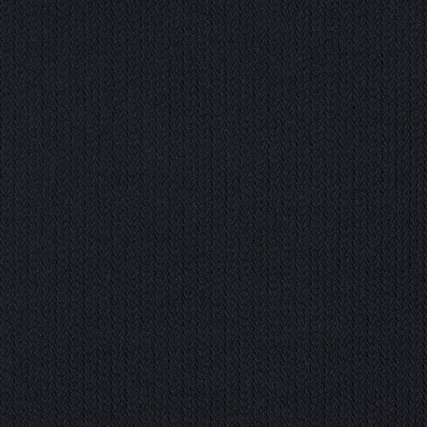 Jacquard Knit Knit GOTS – noir | Albstoffe | Hamburger Liebe