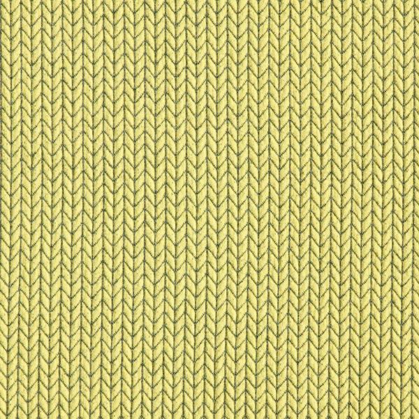 Jacquard Big Knit GOTS – jaune | Albstoffe | Hamburger Liebe