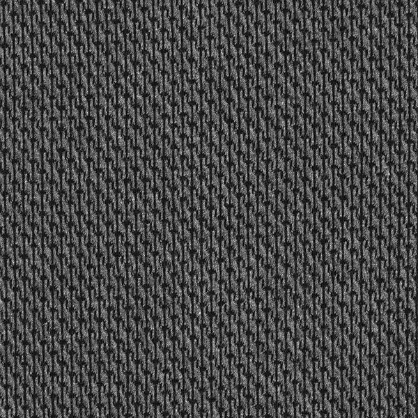ORIENT OXIDENT Jacquard Jersey Rope Knit GOTS – noir/anthracite | Hamburger Liebe