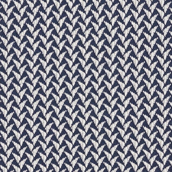 SHINE Jacquard Jersey In And Out GOTS – marineblau | Albstoffe | Hamburger Liebe