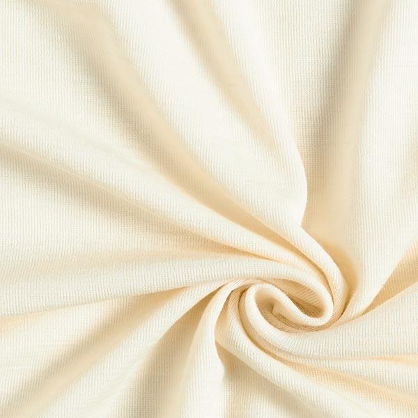Jersey laine Côtes fines GOTS | Albstoffe – nature