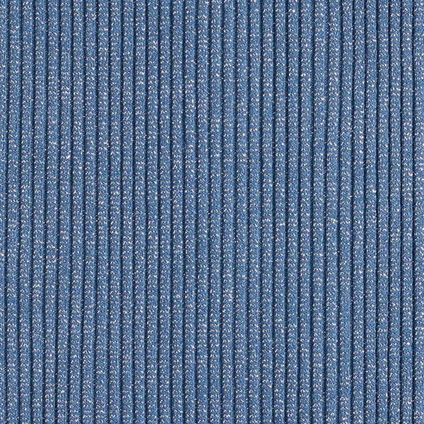 SPARKLE Bord-côtes Hipster Cuff – bleu jean/argent | Hamburger Liebe