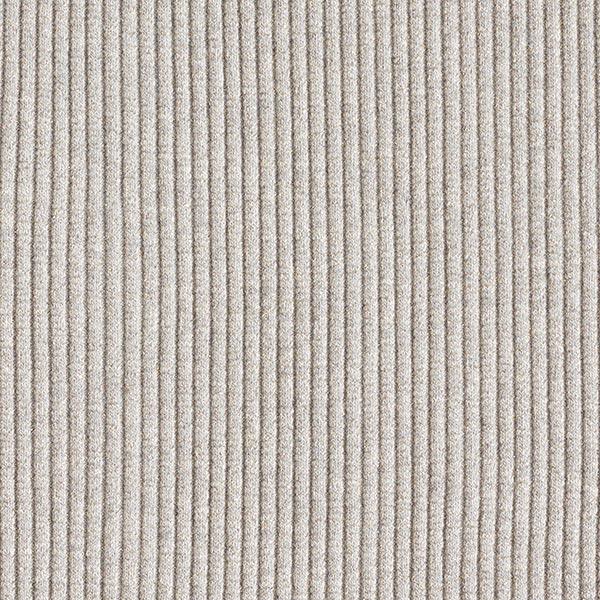 SPARKLE Bord-côtes Hipster Cuff – gris clair/argent | Albstoffe | Hamburger Liebe
