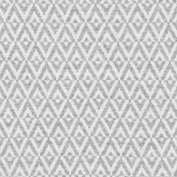 Weekender Diamond Jersey Jacquard GOTS – gris   Albstoffe   Hamburger Liebe