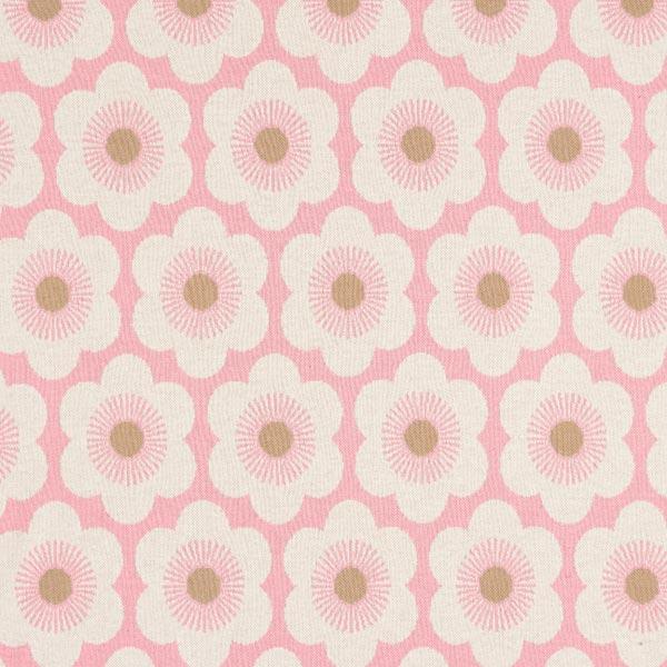 SAKURA Strickjacquard Nippon Knitted Flowers GOTS – rosa | Albstoffe | Hamburger Liebe