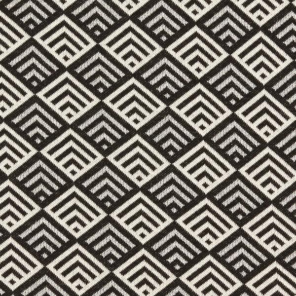 SPARKLE Jacquard maille Tiles – noir/blanc | Hamburger Liebe