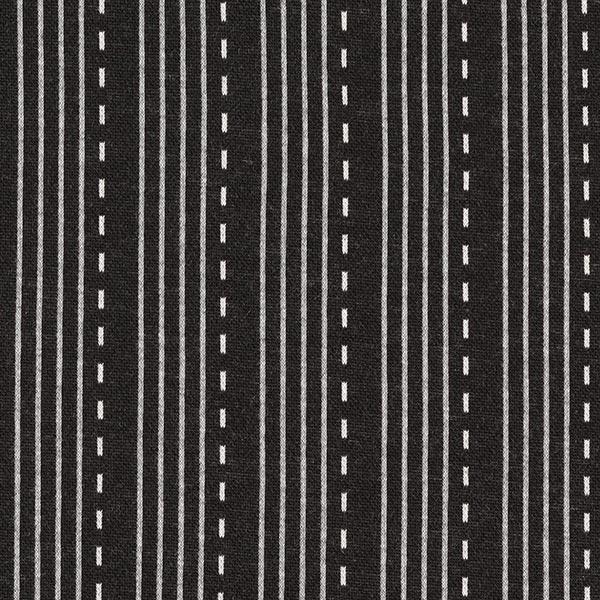 SPARKLE Jacquard maille Lines – noir   Albstoffe   Hamburger Liebe