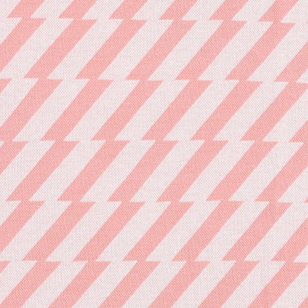 SWEET HOME Strick Jacquard Good Vibes GOTS – rosa | Albstoffe | Hamburger Liebe