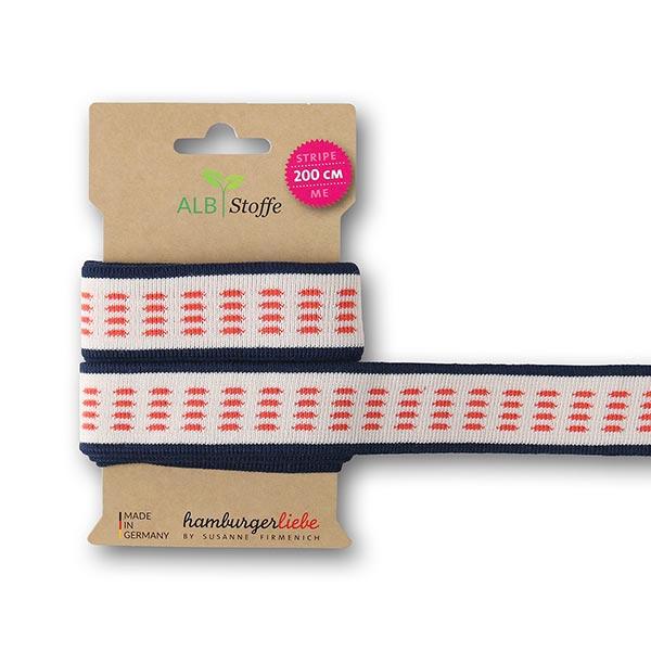 Bio Jacquardbänder Stripe Me Icon [200 cm | 3,5 cm] | GOTS Albstoffe