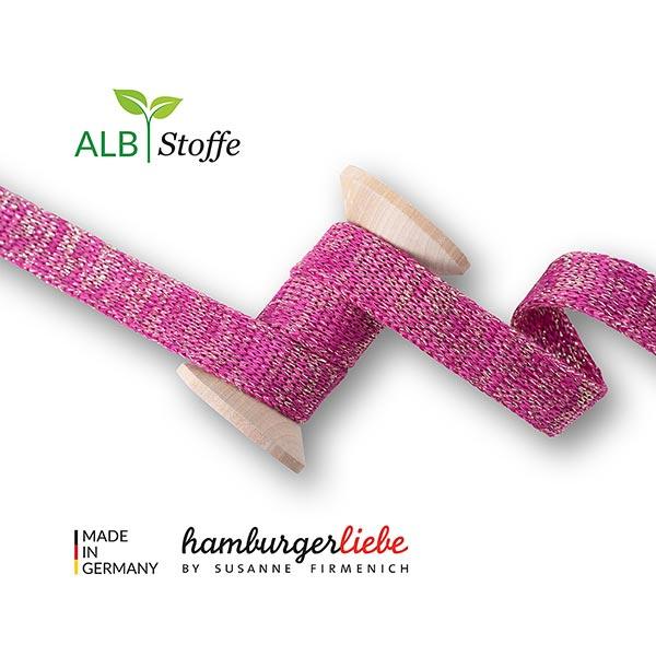 Bio Hoodieband Cord Me [ 12 mm  ] | Albstoffe  – flieder
