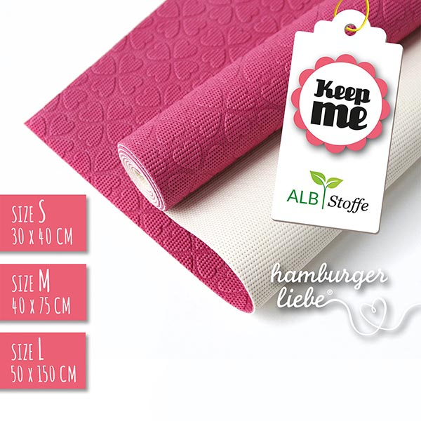 Tapis antidérapant KEEP ME  | Albstoffe | Hamburger Liebe