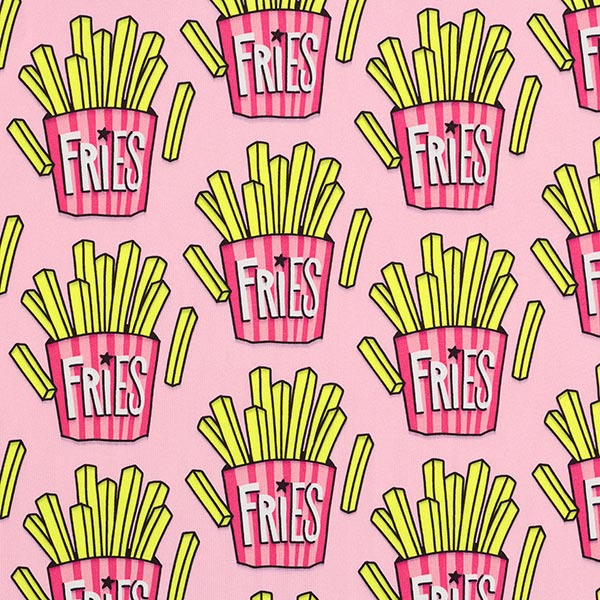 PERFORMANCE Jersey OMG Fries – pink | Hamburger Liebe | Albstoffe