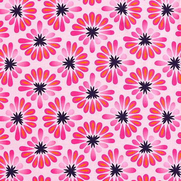 BLOOM Baumwolljersey All Over GOTS – rosa/pink | Albstoffe | Hamburger Liebe