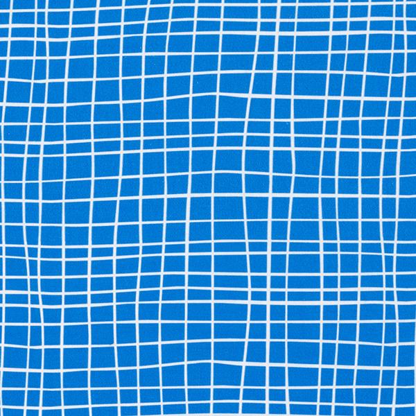 SHIELD PRO Antimikrobieller Jersey Grid – königsblau/weiss | Albstoffe