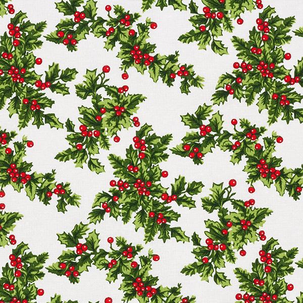 Tissu de décoration Canvas Gui – vert/rouge
