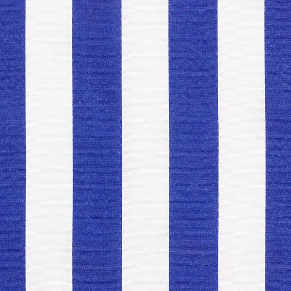 Tissu de décoration Canvas Rayures – bleu/blanc