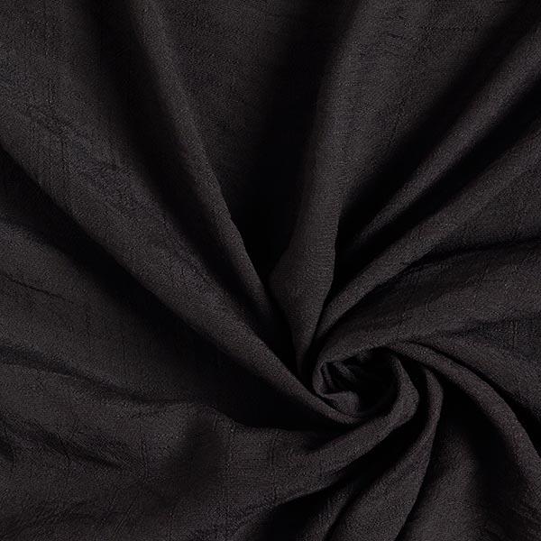 Tissu de chemisier Seersucker – noir