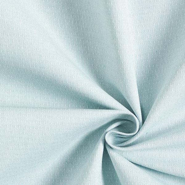Tissu coton stretch structure – vert menthe
