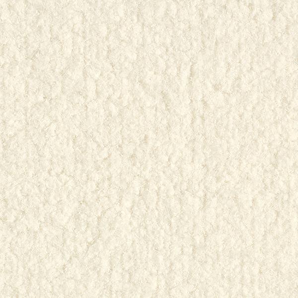 Tissu pour manteau duveteux avec fils à effet – écru